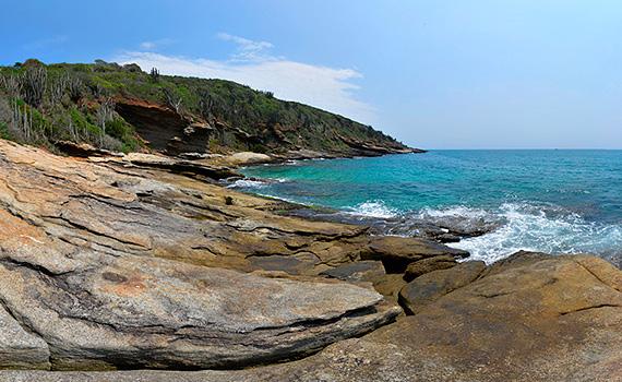 Fotografía 360 ° Grados Playa Buzios Brasil