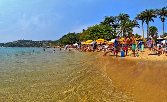 Foto 360 grados Praia João Fernandes Buzios Brasil