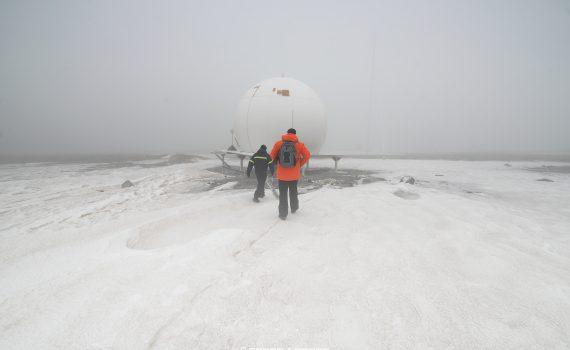 Recorriendo la Base Marambio Antártida Argentina